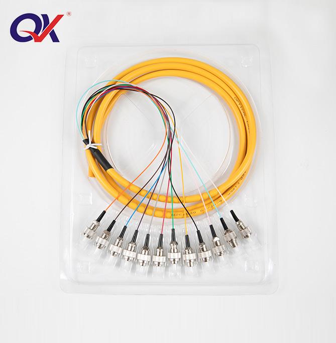 FC 12芯单模束装尾纤