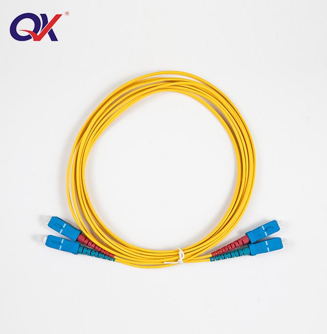 SC-SC单模双芯光纤跳线